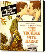 The Trouble With Harry, Shirley Canvas Print