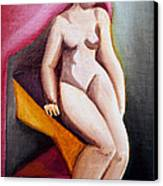 The True Me Canvas Print by Simona  Mereu