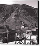 The Upper Village Of Calico Ghost Town Canvas Print