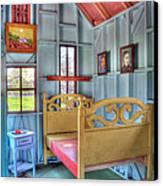 The Vincent Van Gogh Small House Canvas Print