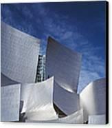 The Walt Disney Concert Hall, By Frank Canvas Print