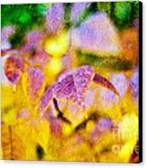 The Warmth Of Autumn Glow Abstract Canvas Print