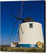 The Windmill Canvas Print by Heiko Koehrer-Wagner