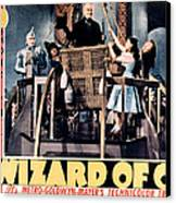 The Wizard Of Oz, Jack Haley, Ray Canvas Print