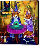The Wizard Of Pembroke - Welsh Corgi Canvas Print