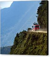 The World's Most Dangerous Road, Bolivia Canvas Print by John Coletti