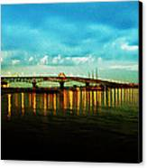 The York River Canvas Print by Bill Cannon
