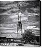 This Is Washington State No. 12 - The American Windmill Canvas Print by Paul W Sharpe Aka Wizard of Wonders