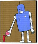 This Robot Has Heart Canvas Print by All images © Tyler Garrison, 2009.