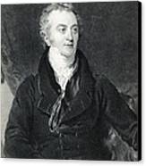 Thomas Young, English Polymath Canvas Print by Photo Researchers