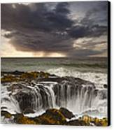 Thor's Well Canvas Print by Keith Kapple
