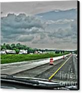 Thunder Road Canvas Print by Alan Look