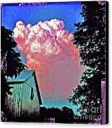 Thunderhead Canvas Print by Kevyn Bashore