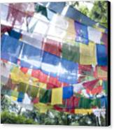 Tibetan Buddhist Prayer Flags Canvas Print
