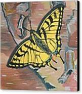 Tiger Swallowtail Canvas Print by Amy Reisland-Speer
