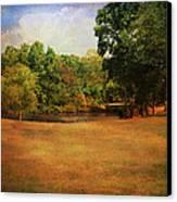 Timbers Pond Canvas Print by Jai Johnson