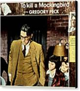 To Kill A Mockingbird, Gregory Peck Canvas Print