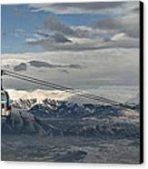 To The Top Canvas Print by Ivan Vukelic