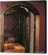 To The Wine Cellar Canvas Print by Renee Trenholm
