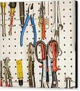 Tools Canvas Print by Shannon Fagan