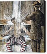 Torture At Sing Sing C1869 Canvas Print by Granger