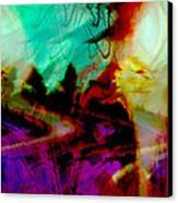 Touch Of The Sun Canvas Print by Linda Sannuti