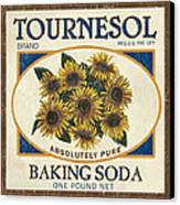 Tournesol Baking Soda Canvas Print