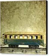 Toy Train Canvas Print by Bernard Jaubert