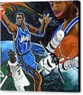 Tracy Mcgrady Canvas Print