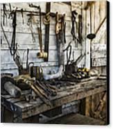 Trade Tools Canvas Print