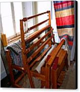 Traditional Weavers Loom Canvas Print