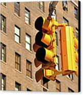 Traffic Signal Canvas Print by Keith McInnes Photography