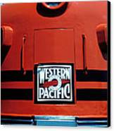 Train Western Pacific Canvas Print by Garry Gay