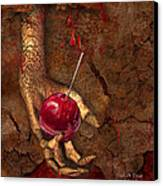 Trick Or Treat Canvas Print by Carol Cavalaris