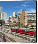 Trolley To Petco Park Canvas Print