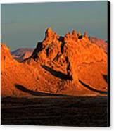 Trona Pinnacles Panorama Canvas Print by Bob Christopher