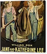 Troublemakers, Jane Lee, Katherine Lee Canvas Print by Everett