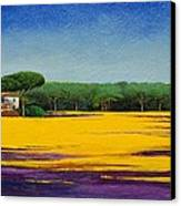Tuscan Landcape Canvas Print by Trevor Neal