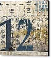Twelve Left Canvas Print by Carol Leigh