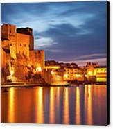Twilight Over Collioure Canvas Print