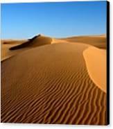 Ubari Sand Sea, Libyan Sahara Canvas Print