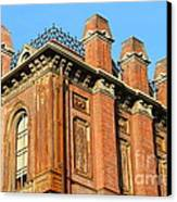 Uc Berkeley . South Hall . Oldest Building At Uc Berkeley . Built 1873 . 7d10114 Canvas Print by Wingsdomain Art and Photography