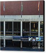 Uc Berkeley . Zellerbach Hall . 7d10013 Canvas Print by Wingsdomain Art and Photography