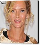 Uma Thurman In Attendance For Friars Canvas Print