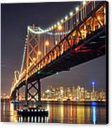Under The Bay Bridge Canvas Print