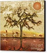 Under The California Sun Canvas Print