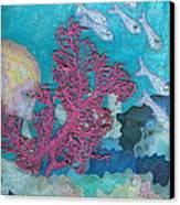 Underwater Splendor I Canvas Print by Denise Hoag