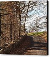 Up Over The Hill Canvas Print