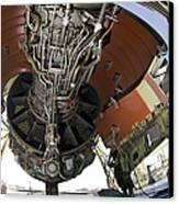 U.s. Air Force Technician Hydraulically Canvas Print