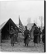 U.s. Army, African American Soldiers Canvas Print